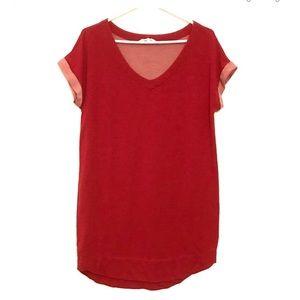 3/20$ Corail jersey tunic size L